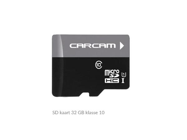 CarCam 32GB klasse 10 SD kaart
