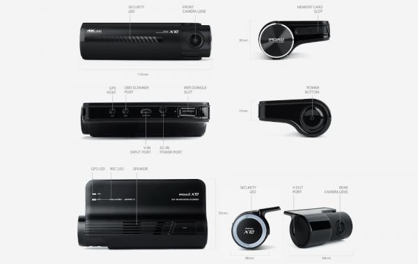 Iroad X10 Dual Dashcam 4