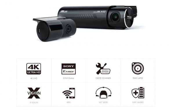 Iroad X10 Dual Dashcam 5